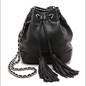 Rebecca Minkoff leather Bucket bag with Tassels